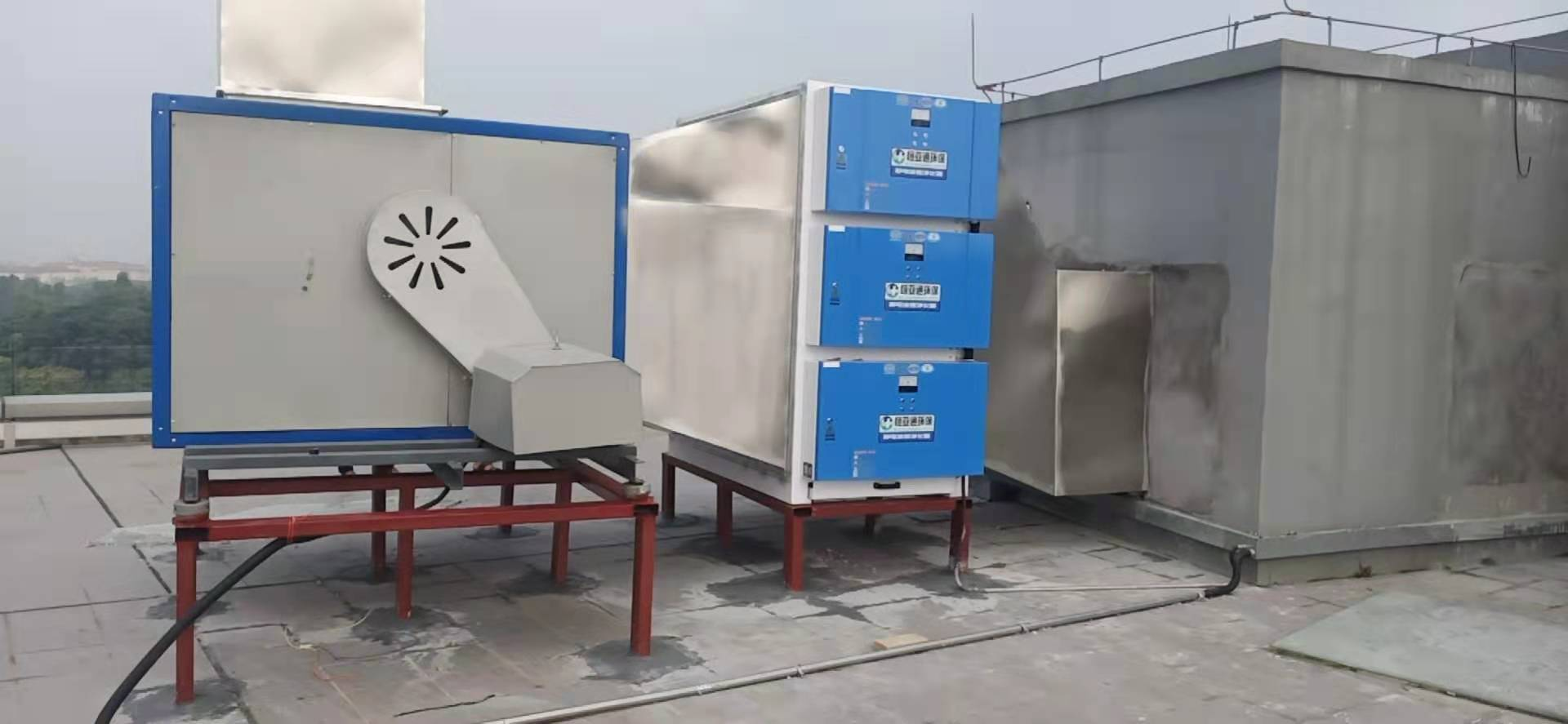 油烟净化器风柜安装案例